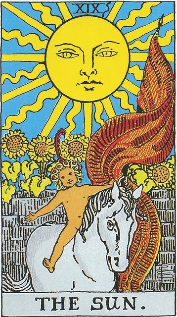 タロットカード 19. 太陽