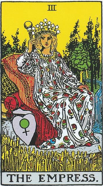 タロットカード 3. 女帝