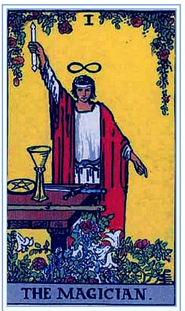 タロットカード 1. 魔術師