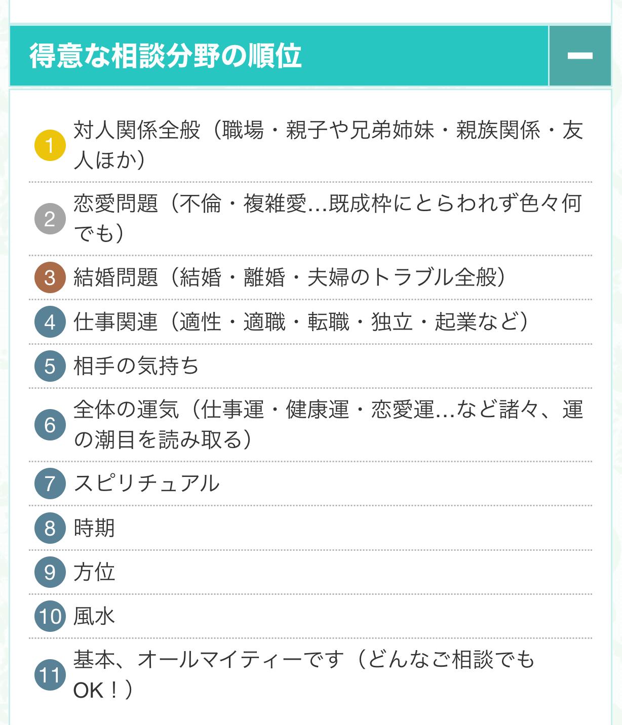 富樫ユキ先生・タイプ表2